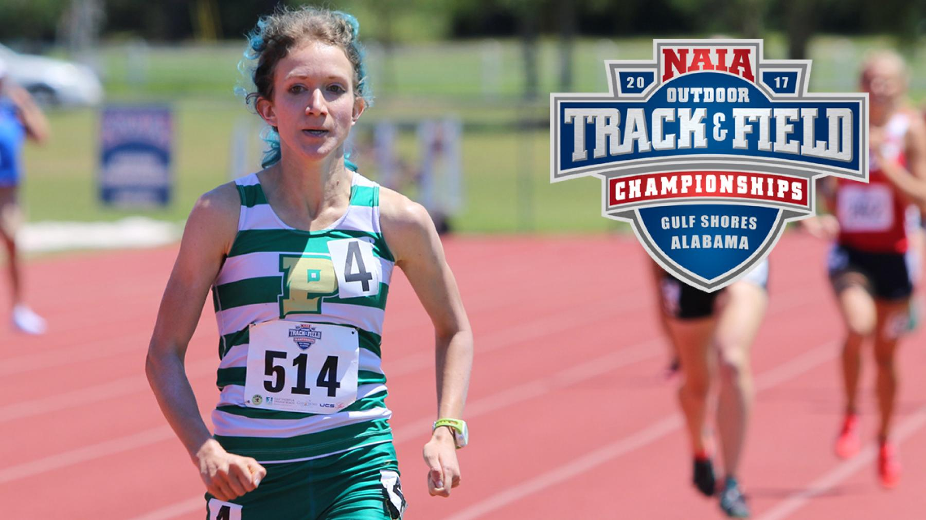Point Park's Anna Shields wins NAIA National Championship in 1500, takes 2nd in 800