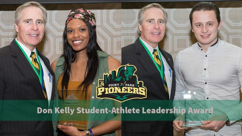 Ja'Nia McPhatter, Paul Carr garner 2016-17 Don Kelly Student-Athlete Leadership Awards