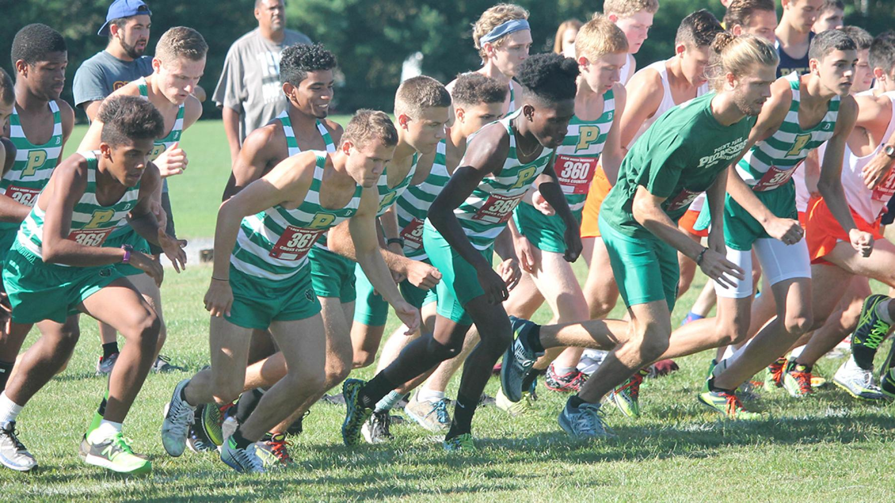 Point Park Men's XC takes sixth at RSC Championship Meet to end season