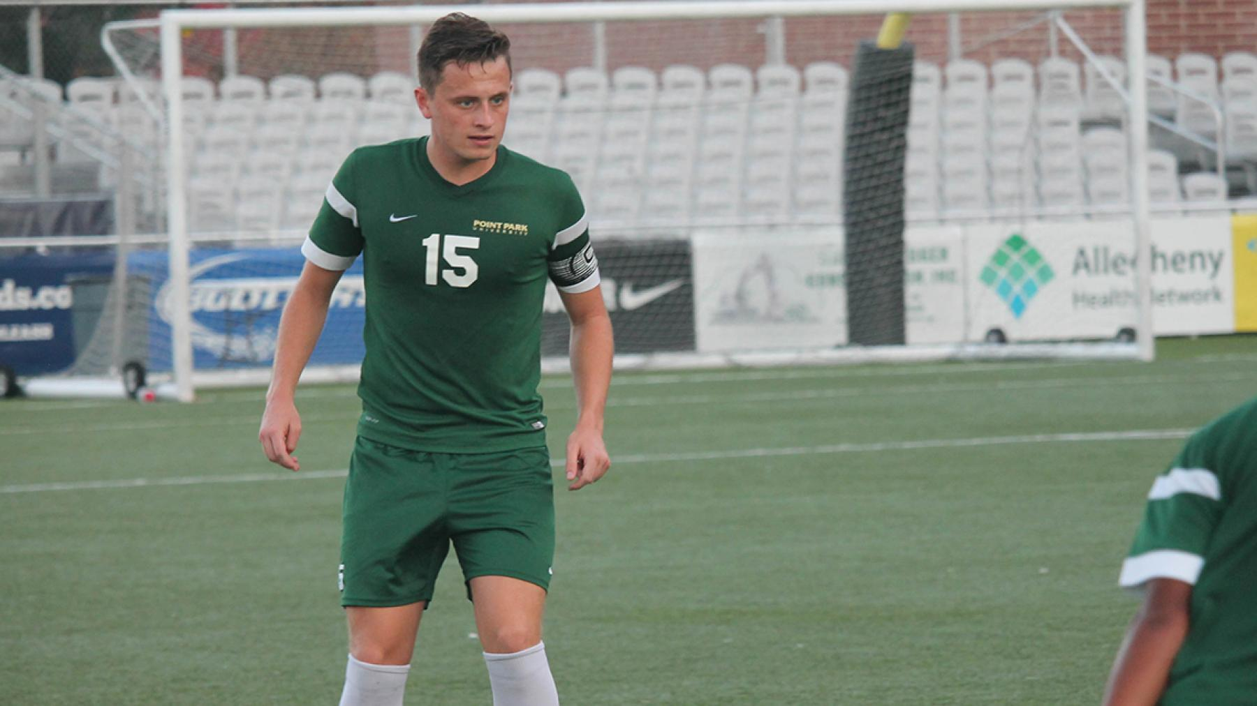 Point Park has three players named to 2016 All-RSC Men's Soccer Teams