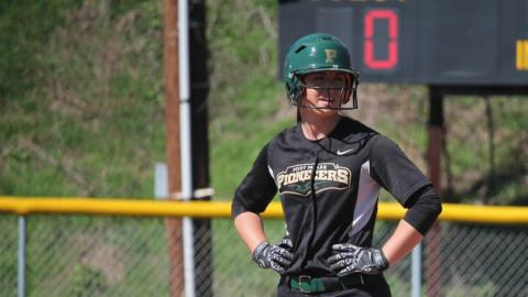 Point Park held Slippery Rock to four runs in the non-conference doubleheader. Photo by Sam Robinson