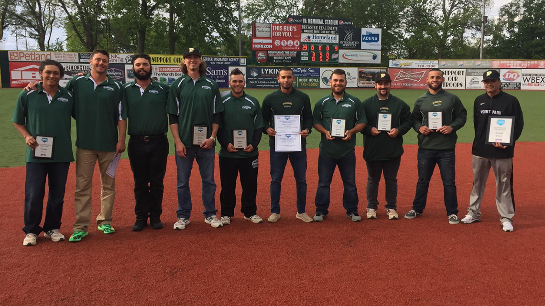 Point Park leads All-RSC Baseball First Team with 6 honorees, RSC Coach of the Year