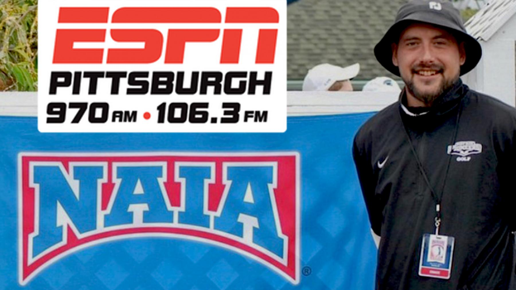 #PPUGOLF coach Gabe Bubon to appear on ESPN Radio Pittsburgh Thursday @ 7:45 pm