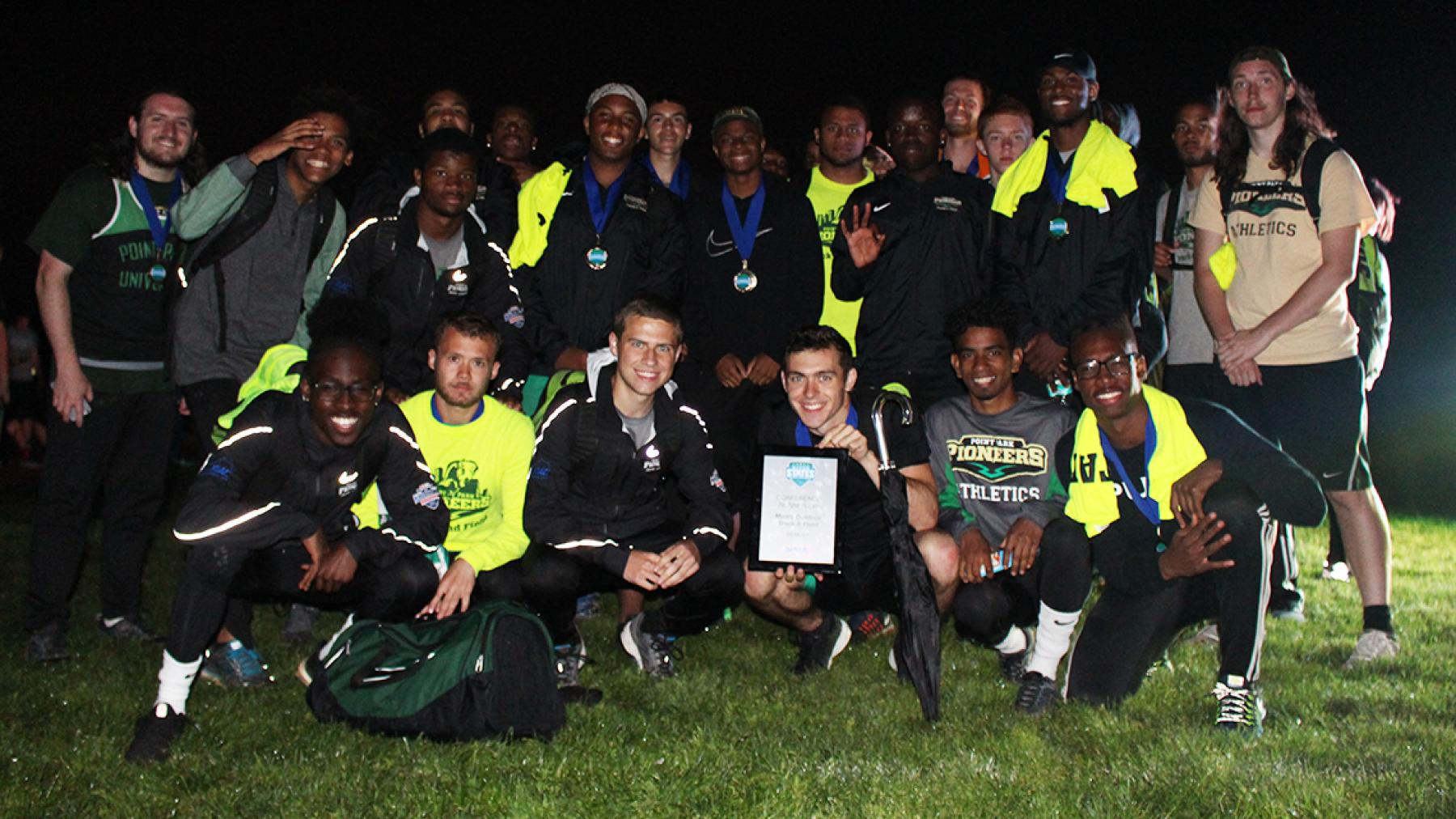 Point Park claims runner-up at RSC Men's Track & Field Championship