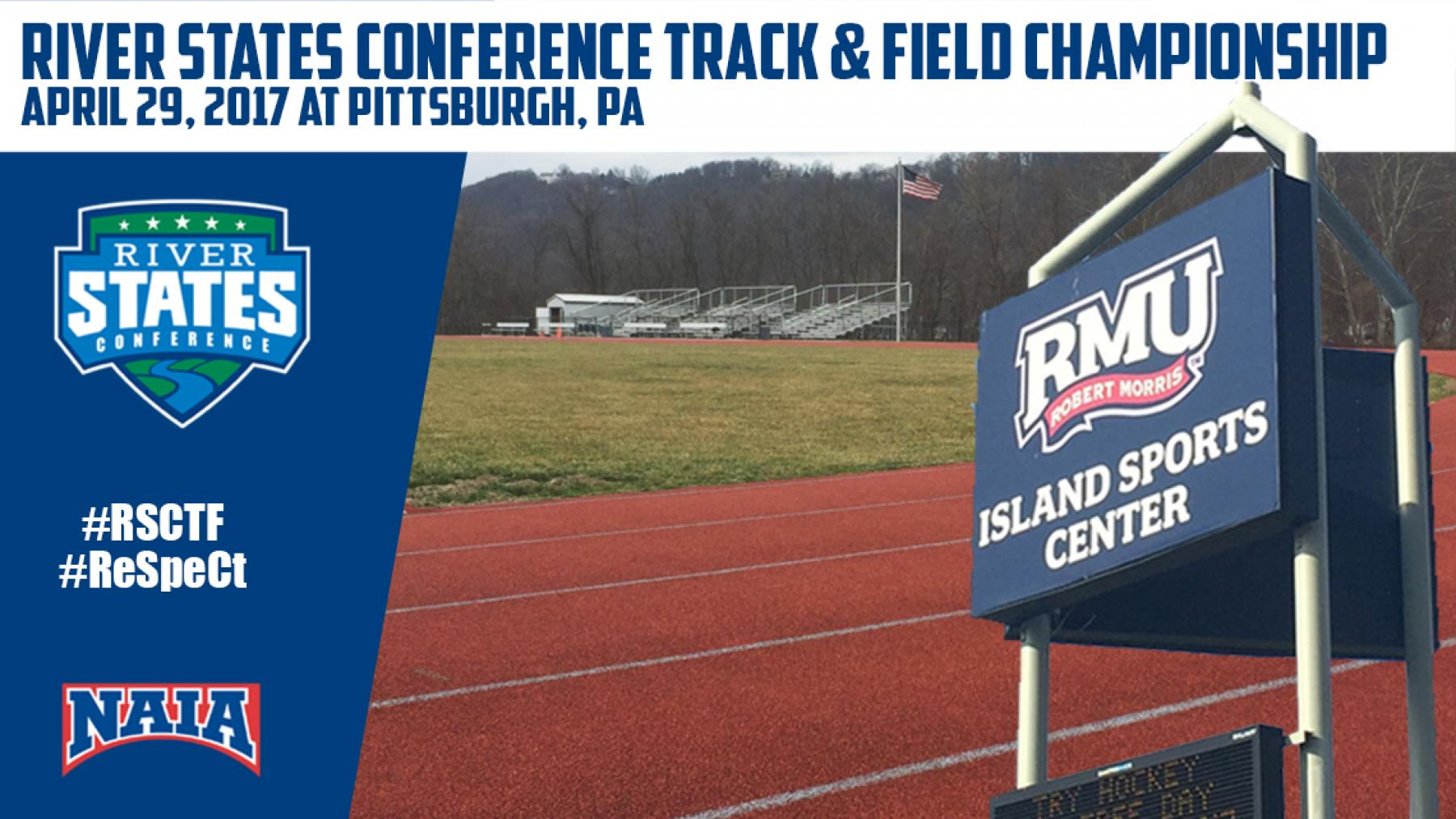 RSC M+W Track & Field Championship April 29 Hosted by Point Park