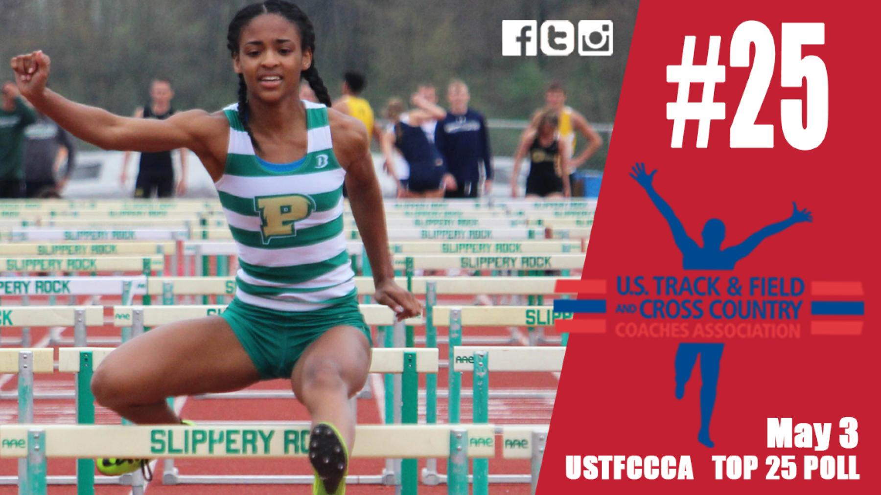 #PPUTF women ranked No. 25 in USTFCCCA Top 25 Poll (May 3)