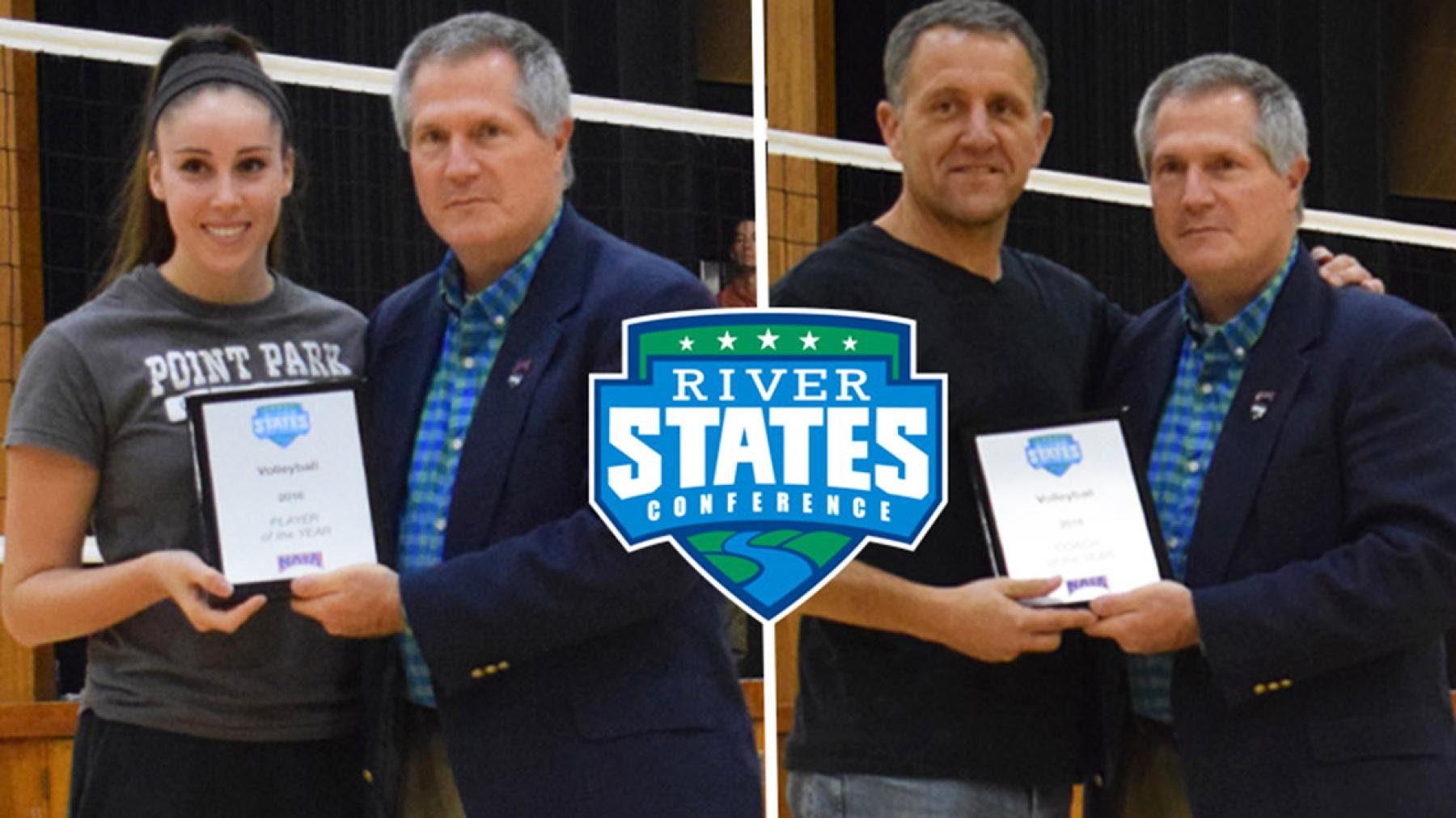 Point Park's All-RSC selections highlighted by RSC Player & Coach of the Year