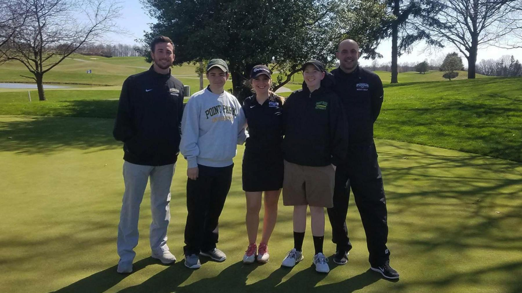 Point Park women's golf places fifth at CMU Shootout