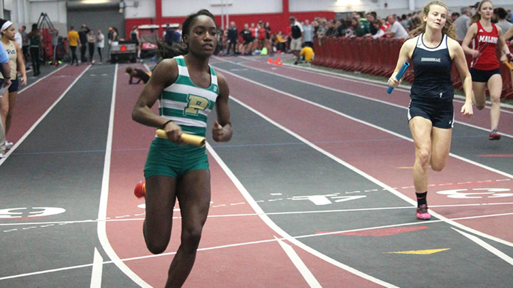 Point Park Women's T&F performs well at SRU in final test before RSC Meet