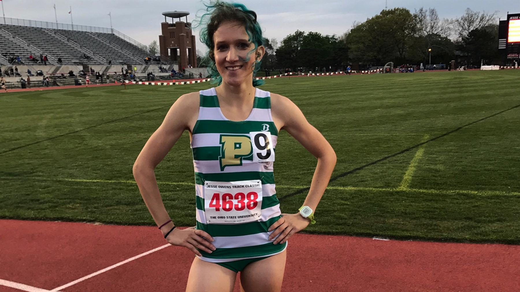 Point Park's Shields competes at Ohio State, places third in 5,000 meters