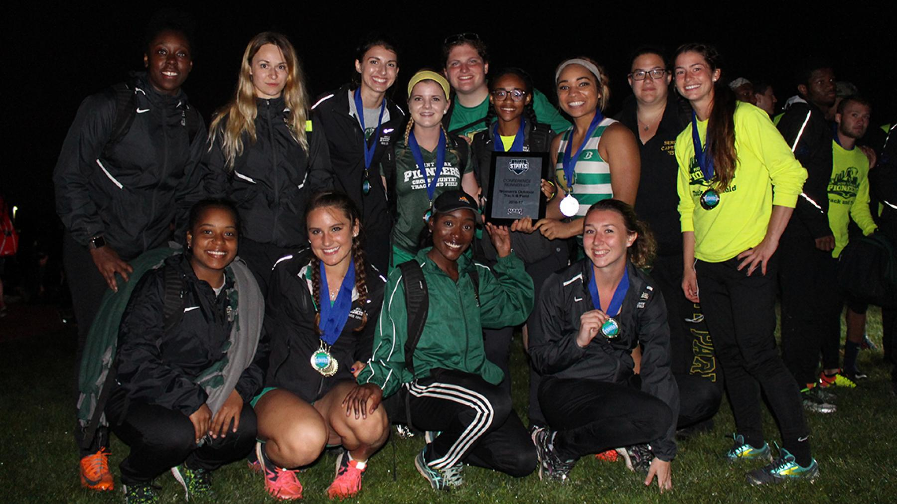Point Park takes 2nd at RSC Women's Track & Field Championship