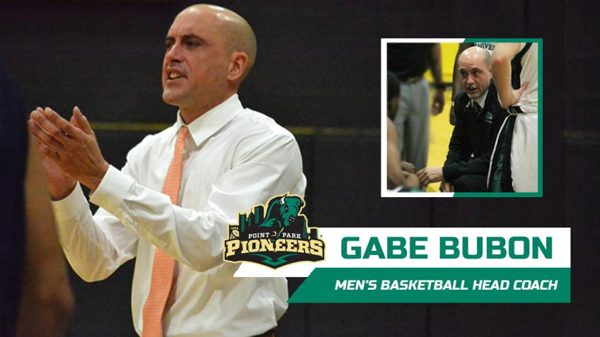 Gabe Bubon named Point Park men's basketball head coach