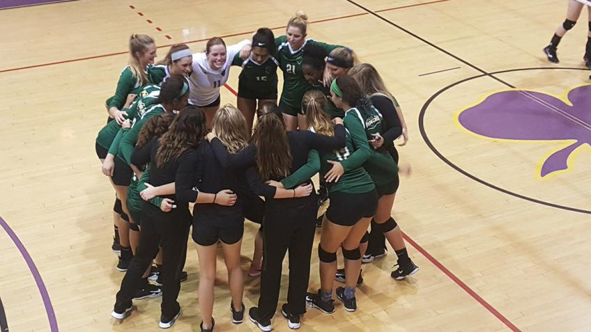 Point Park volleyball wins RSC road match at Carlow, 3-1