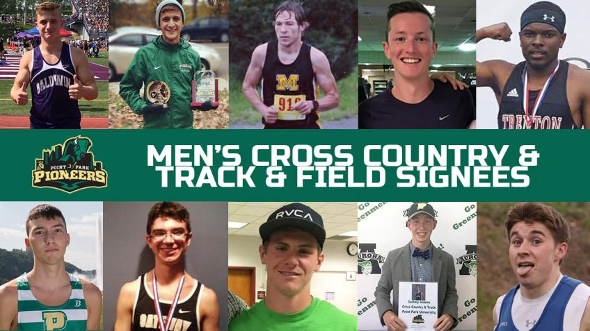 Point Park men's cross country and track & field adds 14 new recruits for 2017-18