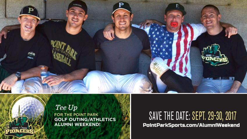 Register Online! Point Park Athletics Alumni Weekend Sept. 29-30!