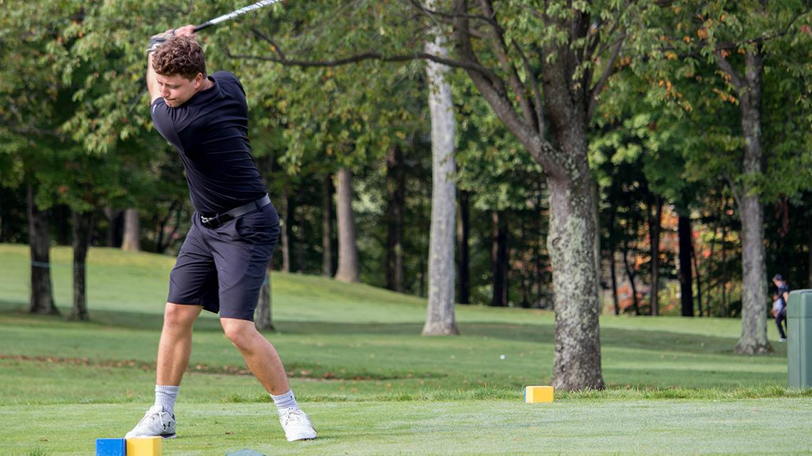 Point Park men's golf tied for 5th after Rd 1 at CMU Fall Shootout