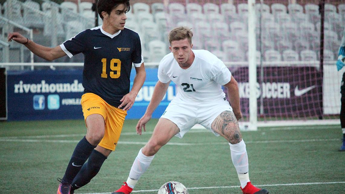 WVU Tech comes back to beat Point Park men's soccer, 3-2