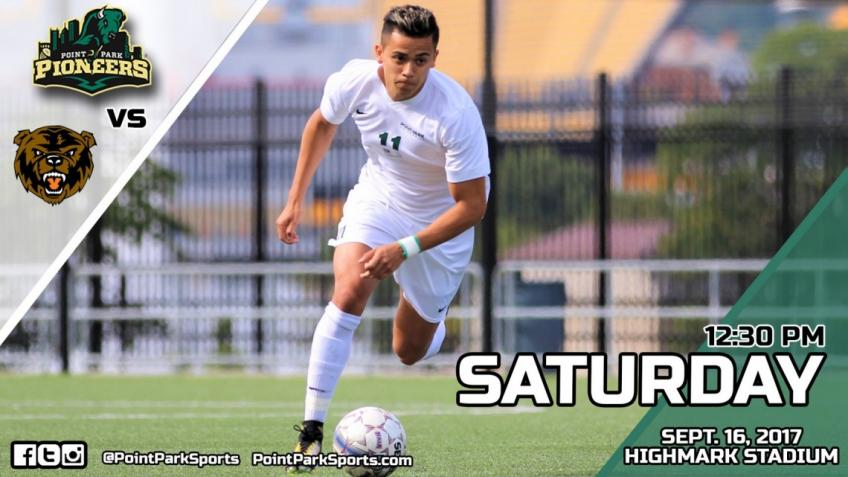 Game Info: Point Park Men's Soccer vs. UPike, Sept. 16 @ 12:30 pm