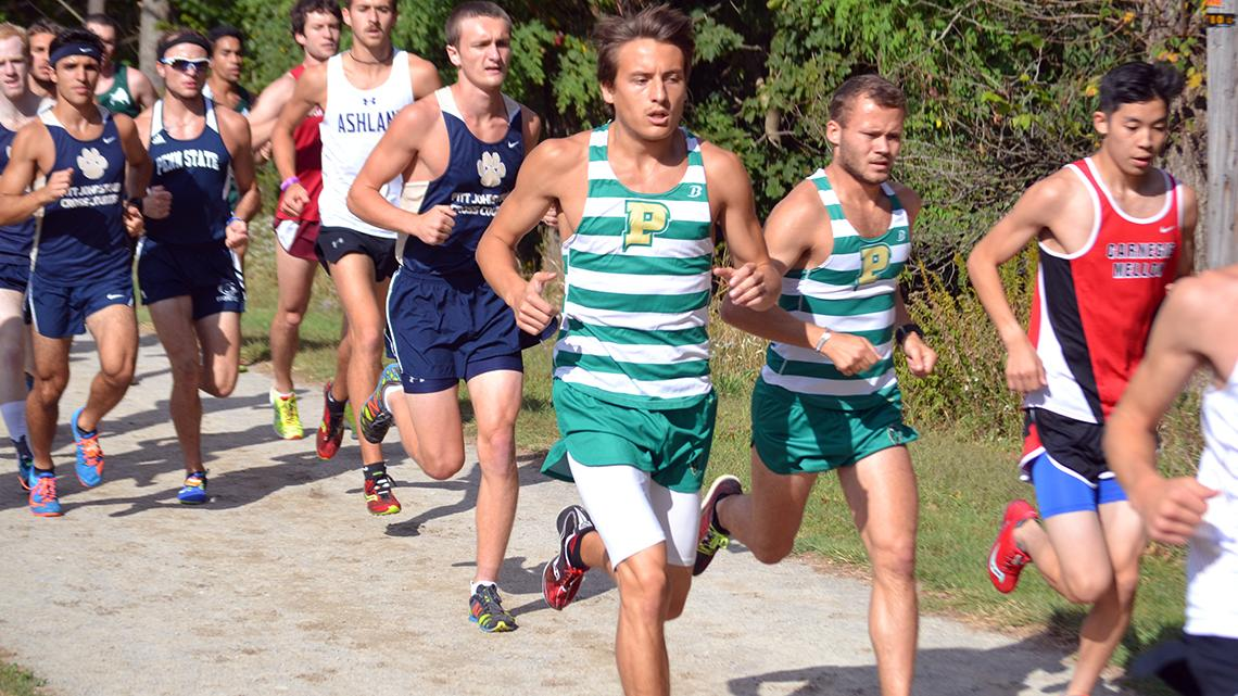 Point Park men's cross country takes 9th of 19 at CMU Meet