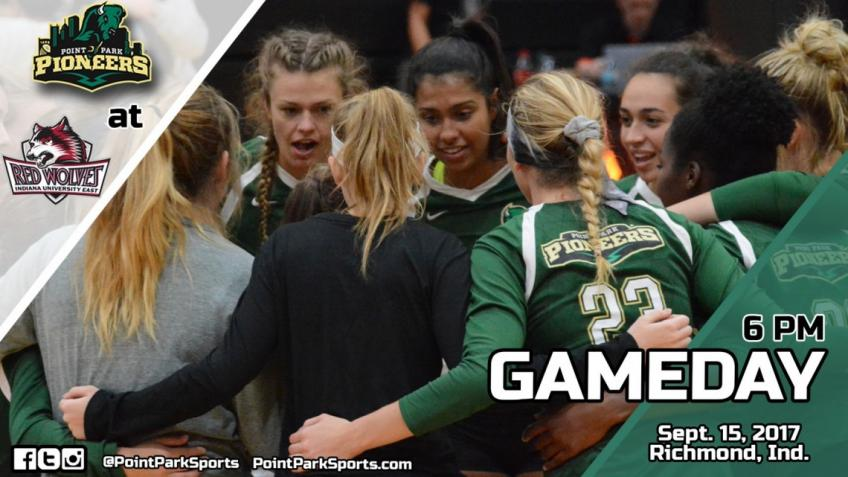 Gameday: @PointParkVB at IU East Sept. 15 @ 6 pm