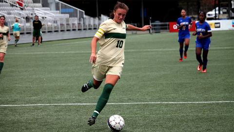 Izzy Hunter scored two goals in the 7-0 victory Sunday. Photo by Sam Robinson