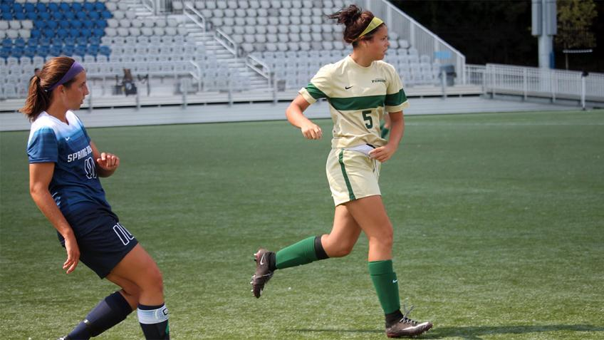 Point Park women's soccer falls to NAIA No. 2-ranked Spring Arbor