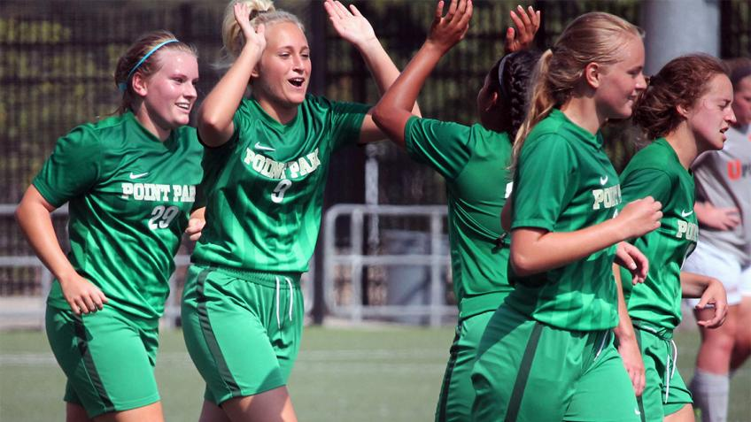Point Park women's soccer picks up first victory over Pikeville (Ky.)