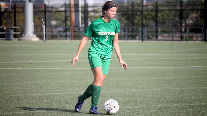 Point Park women's soccer falls in close game against Geneva College