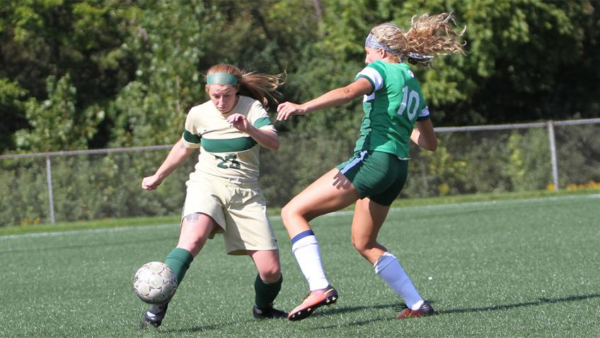 Mount Vernon Nazarene women's soccer bests Point Park on day two of Cougar Classic