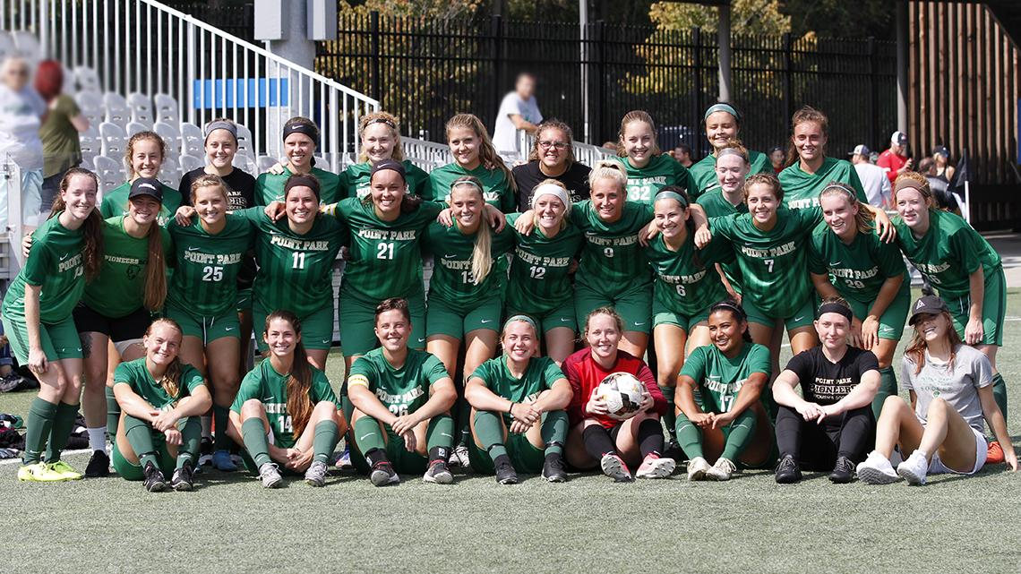 Point Park Women's Soccer Youth Night -- Fri., Oct. 20 @ 6:30 pm