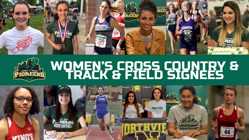 Point Park women's cross country and track & Field welcomes 15 new recruits for 2017-18